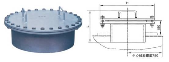 DN50、DN80、DN100、DN15罐顶人孔/罐壁人孔